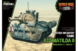 BRITISH INFANTRY TANK A12 MATILDA II  WORLD WAR TOONS