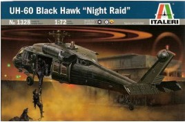 Italeri 1/72 UH-60 Black Hawk Night Raid