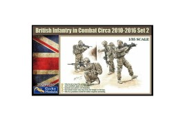 Gecko Models 1/35 British Infantry In Combat Circa 2010~2012 Set 2