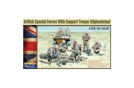 Gecko Models 1/35 British Special Forces with Support Troops (Afghanistan