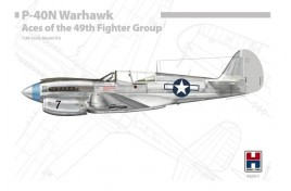 HOBBY 2000 1/48 P-40N Warhawk Aces of The 49th Fighter Group Hasegawa Cartograf Masks