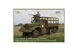 IBG MODELS 1/72  Diamond T 968 Cargo Truck with M2 Machine Gun (Bonus PE parts included NEW