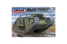 EMHAR 1/72 Mk IV 'Female' WWI Heavy Battle Tank