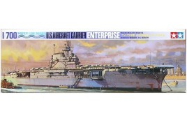 Tamiya 1:700 U.S. Aircraft Carrier Enterprise