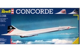 Concorde British Airways 1:144 Scale Plastic Kit