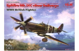 "ICM 1/48 Spitfire Mk.IXC ""Beer Delivery"" WWII British Fighter"