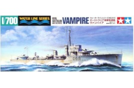 Tamiya 1:700 Royal Australian Navy Destroyer Vampire