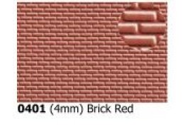 4mm Brick Red OO Scale
