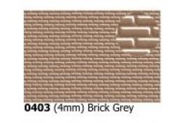 4mm  Bond Brick Grey OO Scale