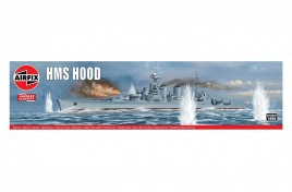 HMS Hood 1:600 Scale Plastic Kit