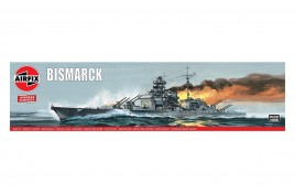 Bismack 1:600 Scale Plastic Kit