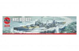 HMS Belfast 1:600 Scale Plastic Kit
