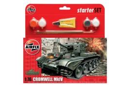 Cromwell MkIV Tank Starter Set 1:72 Scale Plastic Kit
