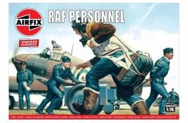 RAF Personnel 1:76 Scale Plastic Kit