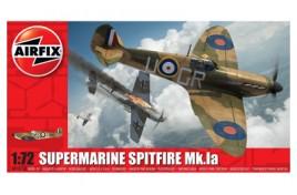Supermarine Spitfire MK.la Plastic Kit 1:72 Scale