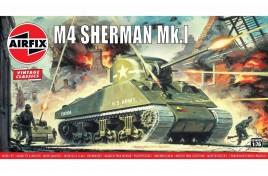 Sherman M4 Mk1 1/76 Scale Plastic Kit