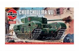 Churchill  Mk.VII Tank 1:76 Scale Plastic Kit