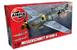 Messerschmitt Bf109G-6 1:72 Scale Plastic Kit