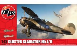 Gloster Gladiator Mk.I/Mk.II  1:72 Scale Plastic Kit