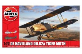 De Havilland DH.82a Tiger Moth Plastic Kit 1:72 Scale