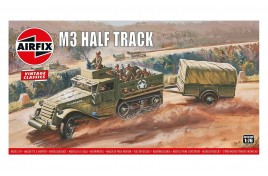 M3 Half Truck and 1 Ton Trailer 1:76 Scale Plastic Kit