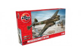 Messerschmitt Bf110c 1:72 Scale Plastic Kit