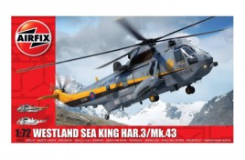 Westland Sea King HAR.3/Mk.43 Plastic Kit 1:72 Scale