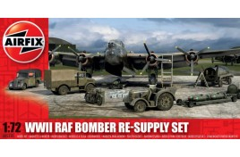 WWII RAF Bomber Re-supply Set 1:72 Scale Plastic Kit