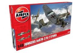 Junkers JU87B-2/R-2 1:48 Scale Plastic Kit