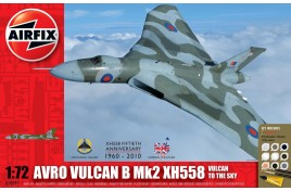 Avro Vulcan B Mk2 XH558: Vulcan To The Sky Gift Set 1:72 Scale Plastic Kit