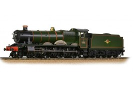 GWR 'Modified Hall' 6998 'Burton Agnes Hall' BR Lined Green (Late Cr.) OO Scale