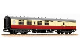 Thompson 3rd Class Brake Corridor BR Crimson & Cream