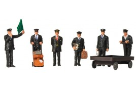 OO Scale 1940/50s Station Staff