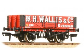 5 Plank Wagon Wooden Floor 'W. H. Wallis & Co' OO Gauge