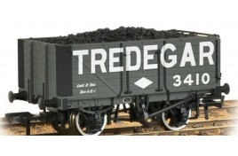 7 Plank End Door Wagon 'Tredegar' with Load OO Gauge