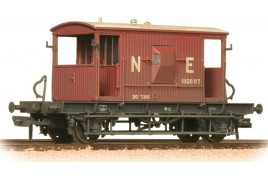 20 Ton Brake Van LNER Oxide Weathered OO Gauge