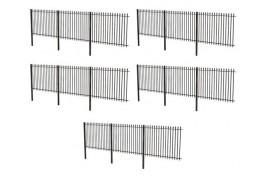 Metal Fencing (x5) OO Gauge