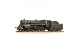 BR Standard Class 4MT Tank 80104 BR Lined Black Late Crest OO Gauge