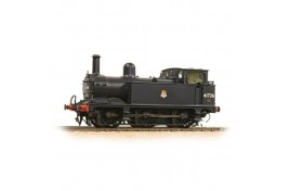 Midland Class 1F 41726 BR Black Early Emblem Vacuum Fitted Enclosed Cab OO Gauge