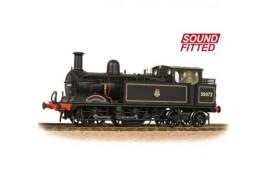 Class 1532 (1P) Tank 58072 BR Lined Black Early DCC Sound OO Gauge