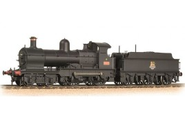 GWR 32XX 'Earl' 9018 BR Black (Early Emblem) OO Gauge Weathered