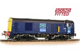 Class 20/3 20306 DRS Blue   Sound Fitted OO Gauge
