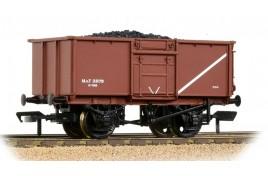 16T Steel Mineral Wagon Pressed End Door MOT Bauxite[L] OO Gauge