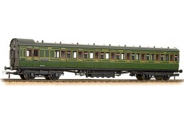 SE&CR 60' Birdcage Brake 3rd Southern Railway Olive Green OO Gauge