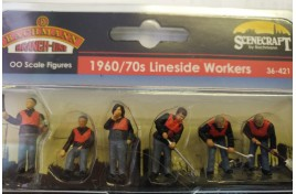 19760/70s Lineside Workers OO Scale