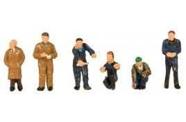 Factory Workers & Foreman N Scale