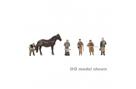 Rural Tradesmen With Horse N Gauge