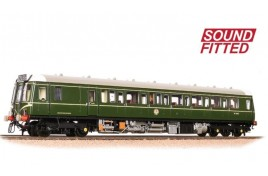 Class 121 Single-Car DMU BR Green (speed whiskers) OO Gauge SOUND