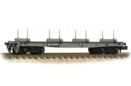 War Office 50T 'Parrot' Bogie Bolster  BR Grey (Early)  N Gauge