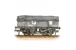 UCA China Clay Wagon GWR Grey With Flat hood (Weathered) OO Gauge